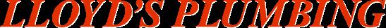 Lloyd's Plumbing logo