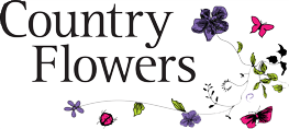 Country Flowers Florist logo